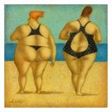 2 on the beach Posters av Steven Lamb