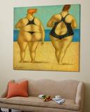 2 on the beach Affischer av Steven Lamb