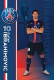 Paris Saint Germain- Zlatan Ibrahimovic Pósters