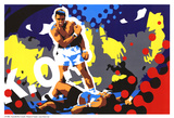 Ali Kunstdruck von Ray Lengelé
