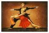 Modern Ballet Posters av Steven Lamb