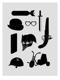 2011 A Kubrick Odyssey Poster di Florent Bodart