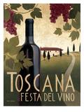 Toscana Festa Del Vino Print by Marco Fabiano
