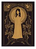 Reine Des Cygnes Golden Arte di Florent Bodart