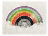 Rainbow Classic Poster af Florent Bodart
