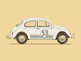 Beetle Poster by Florent Bodart