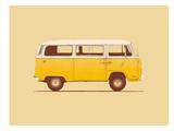 Yellow Van Plakater af Florent Bodart
