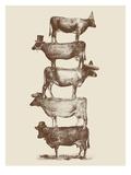 Cow Cow Nuts 2 Poster di Florent Bodart