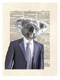 Koala Suit Posters af Matt Dinniman
