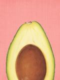 Peek A Boo Avocado Láminas por  LILA X LOLA