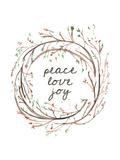 Peace Love Joy Láminas por  Jetty Printables