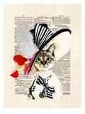 Audrey Cat Poster por Matt Dinniman