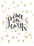 Peace On Earth Plakater av  Jetty Printables