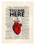 You Are Here Posters av Matt Dinniman