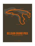 Belgian Grand Prix 1 Metalldrucke von  NaxArt