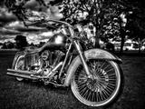 Harley Fotografie-Druck von Stephen Arens