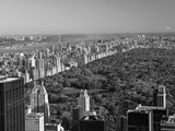 Uptown Manhattan and Central Park from the Viewing Deck of Rockerfeller Centre, New York City Impressão fotográfica por Gavin Hellier