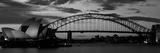 Sydney Harbour Bridge at Sunset, Sydney, Australia Photographic Print