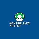 Extra Lives Matter - Geek Slogan Stampe di  Boots