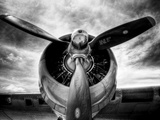 1945: Fly med en motor Trykk på strukket lerret av Stephen Arens