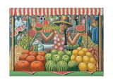 The Melon Seller, 2015 Giclée-Druck von PJ Crook