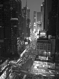 Broadway Looking Towards Times Square, Manhattan, New York City, USA Impressão fotográfica por Alan Copson