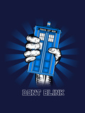 Don't Blink - Geek Propaganda Poster Posters by  Boots