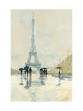 Abril en París Arte sobre metal por Avery Tillmon