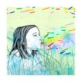 Summers Haze Giclee Print by Sara Netherway