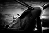 Spitfire Photographic Print by David Bracher