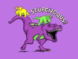 Stupendous - 90s Nostalgia Dinosaur Posters por  Boots