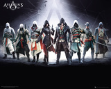 Assassins Creed- Gathering Of Characters Posters