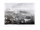The Battle of Austerlitz in Moravia 2 December 1805 Metalldrucke von Antoine Charles Horace Vernet