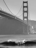 California, San Francisco, Golden Gate Bridge, USA Fotografisk tryk af Alan Copson