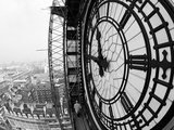Close-Up of the Clock Face of Big Ben, Houses of Parliament, Westminster, London, England Reproduction photographique Premium par Adam Woolfitt