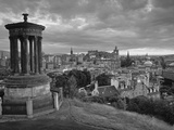 Stewart Monument, Calton Hill, Edinburgh, Scotland Photographic Print by Doug Pearson