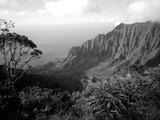 View Above the Na Pali Coast, Kauai, Hawaii, USA Fotografisk trykk av Christopher Talbot Frank