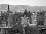 Skyline of Edinburgh  Scotland