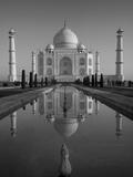 Taj Mahal, UNESCO World Heritage Site, Agra, Uttar Pradesh, India, Asia Lámina fotográfica por Ben Pipe