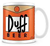 The Simpsons - Duff Beer Mug Krus