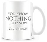 Game of Thrones - You Know Nothing Jon Snow Mug Mok