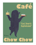 Café Chow Chow Limited Edition by Ken Bailey