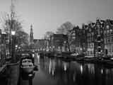 Prinsengracht, Amsterdam, Holland Fotografisk trykk av Jon Arnold