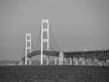 Mackinac Bridge, Mackinaw City, Michigan, USA Photographic Print by Michael Snell