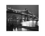 Le pont de la 59e Rue Affiches par Chris Bliss