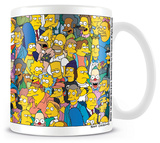 The Simpsons - Character Mug Taza