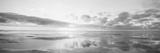 Solopgang på strand, Nordsøen, Tyskland Fotografisk tryk