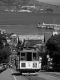 Tram, Hyde St, San Francisco, California, USA Impressão fotográfica por Walter Bibikow