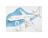 Airplane, c. 1959 Posters by Andy Warhol