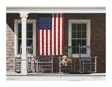 American Flag Giclee Print by Zhen-Huan Lu